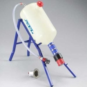 _Ø2'-Refueling-Bottle-(25L)-with--12-Staubli-Vent-for-'closed-loop'-refuelling.