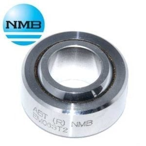 ABWT12 NMB 3 4 Spherical Bearing Stainless Steel PTFE Chamfer Type