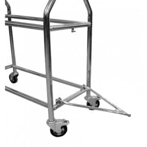 Stainless steel wheel and tyre trolley 2 1000x1000