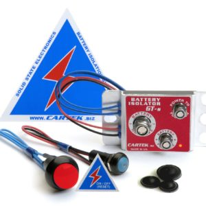 BATTERY ISOLATOR GT kit BLUE