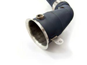 McLaren MP4 12C Ceramic Secondary Cat Pipes Detail B
